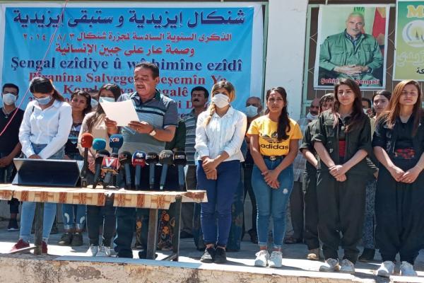 في الذكرى السادسة... البيت الإيزيدي يدعو الشعب الإيزيدي إلى التشبث بإدارته الذاتية