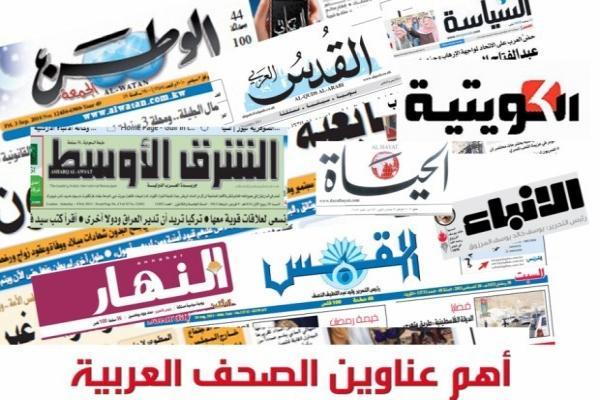 صحف عربية: إسرائيل توسع غاراتها في سوريا وأوربيون يدعون إلى وقف التمدد التركي