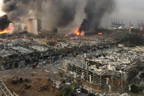 ارتفاع عدد ضحايا انفجار لبنان إلى 78 شخص