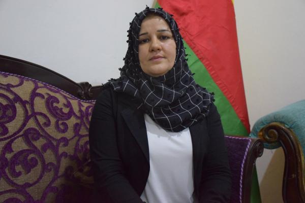 شيرين حمي: هدف تركيا إبادة الشعب الكردي وزرع الفتنة والشعوب تعي الحرب الخاصة