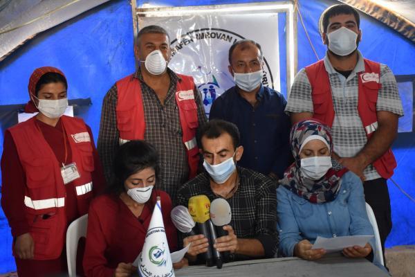 منظمة حقوق الإنسان توجه نداءً عاجل لمنظمة الصحة العالمية واليونيسيف