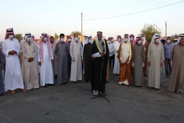القبائل العربية في ناحية تل حميس تؤكد دعمها لقسد وتصف اغتيال الشّيخ الهفل بالفتنة