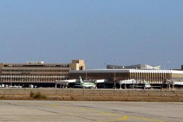 سقوط صواريخ في محيط مطار بغداد الدولي