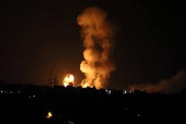 إصابة طفلة بهجوم إسرائيلي على غزة