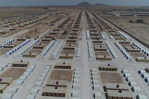 مخيم جديد سيستقبل مُهجّري سري كانيه القاطنين في مراكز الإيواء