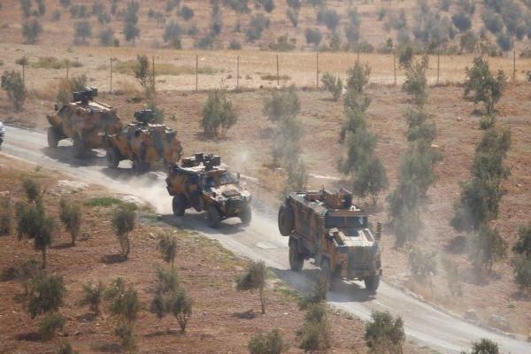 الاحتلال التركي يدخل رتلًا عسكريًّا إلى