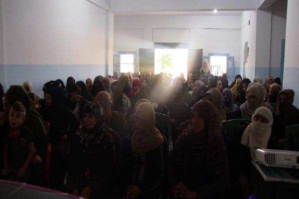 إدارة المرأة بالرقة تعقد اجتماعاً حول جرائم الاحتلال التركي