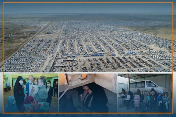 مسؤول أمني يكشف: إفشال 700 محاولة فرار لأسر داعش من مخيم الهول