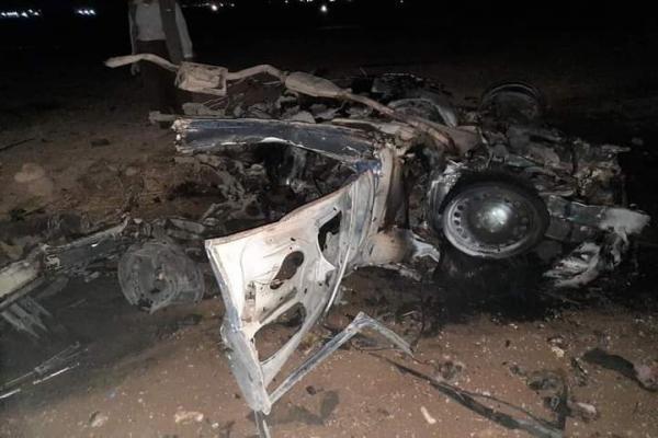 انفجار سيارة في منطقة شرف الدين بشنكال