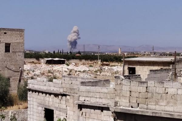 مرتزقة تركيا تصعد من هجاتها على شمال اللاذقية والقوات الحكومية ترد