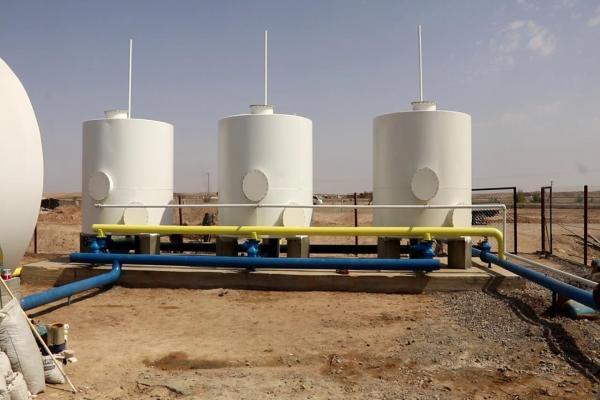 أيام قليلة وتدخل محطة تصفية مياه الصعوة بريف دير الزور في الخدمة