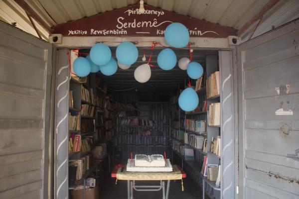 احتفالية بمناسبة الذكرى السّنويّة الثّانية لتأسيس مكتبة اتّحاد مثقفي عفرين