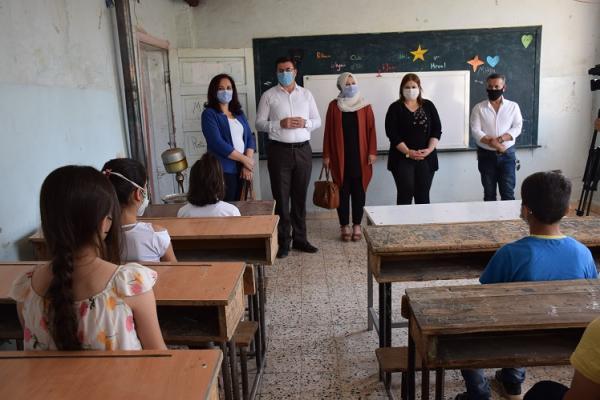 جولة للاطلاع على جهوزية المدارس والتدابير المتخذة في إقليم الجزيرة