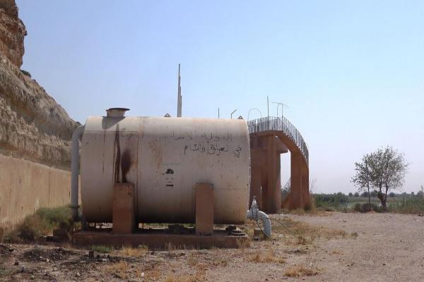 محطة مياه الباغوز ستبدأ العمل خلال 25 يومًا
