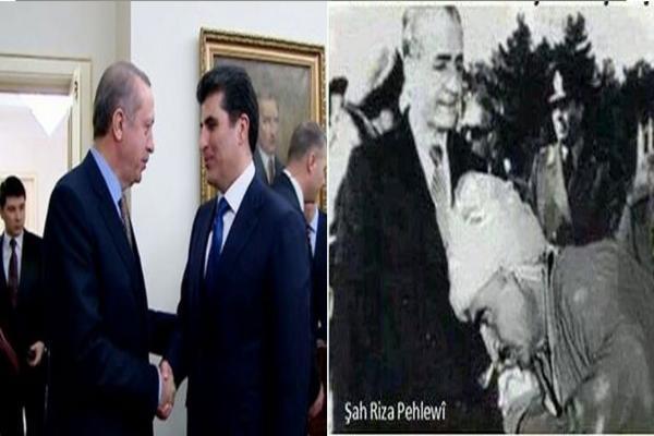 أمس كان البارزاني يعادي الكرد في شرق كردستان واليوم يعاديهم في غرب كردستان