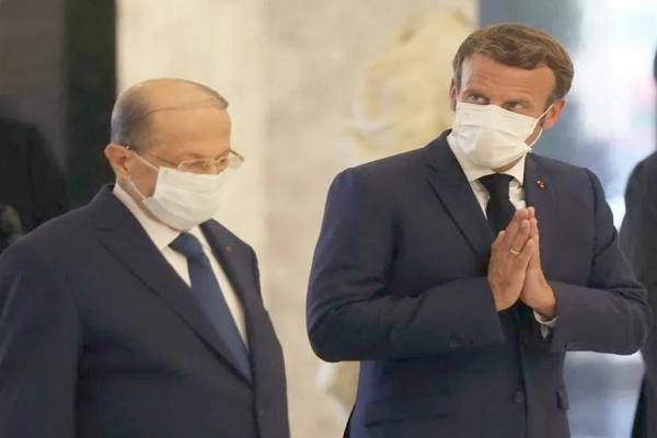 ماكرون: فرنسا إلى جانب لبنان ونعمل على عقد مؤتمر لدعم الشعب اللبناني