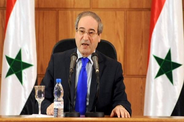 الاتحاد الأوروبي يفرض عقوبات على وزير الخارجية السوري