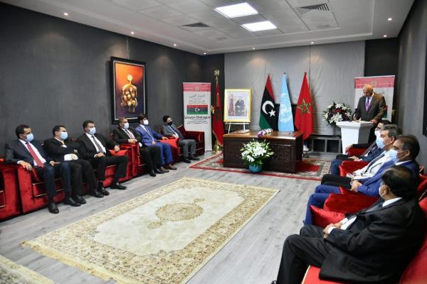 اجتماع ليبي في بوزنيقة لتوزيع مناصب السيادية