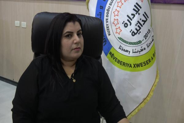 بيريفان خالد: بصمة المرأة واضحة في الإدارة الذاتية