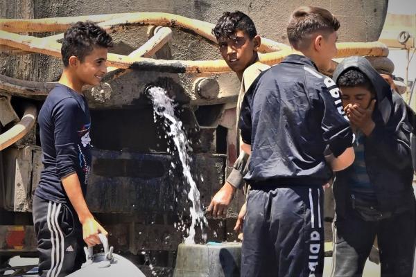 الاحتلال التركي يقطع المياه عن الحسكة مرة اخرى...