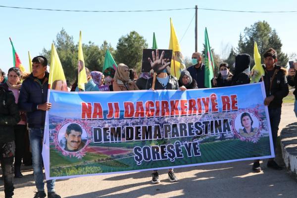 أهالي منطقة برآف: تهديدات الاحتلال التركي تزيدنا إصرارًا على المقاومة وتصعيد النضال