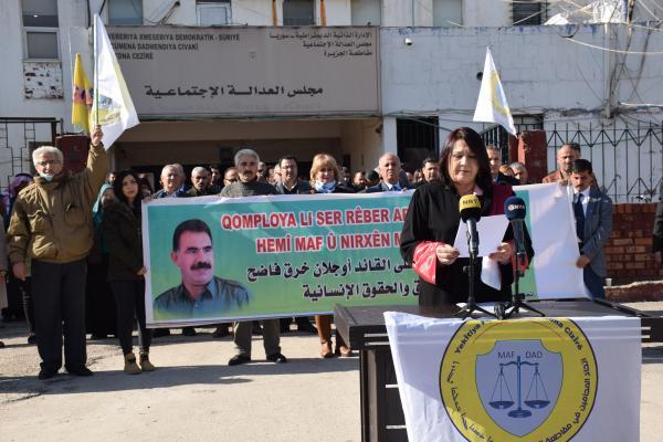 محامو الجزيرة يعلنون أنفسهم محامين للدفاع عن أوجلان