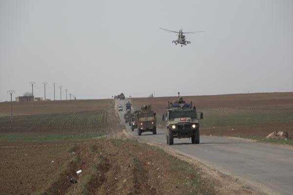الدورية الـ 40 للاحتلال والقوات الروسية تجوب الريف الغربي للدرباسية
