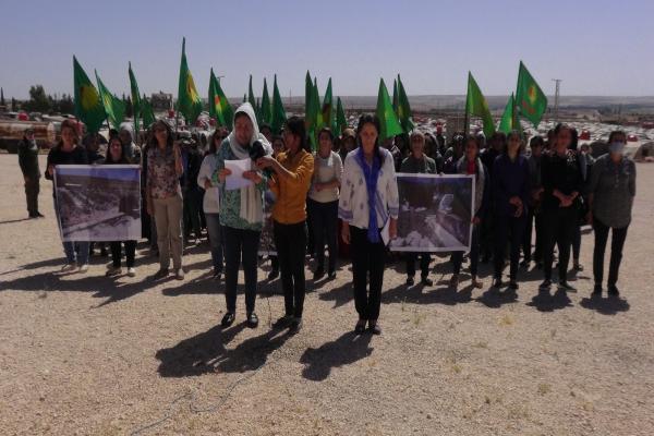 مؤتمر ستار يعتبر بناء المستوطنات والجوامع في القرى الإيزيدية بعفرين المحتلة