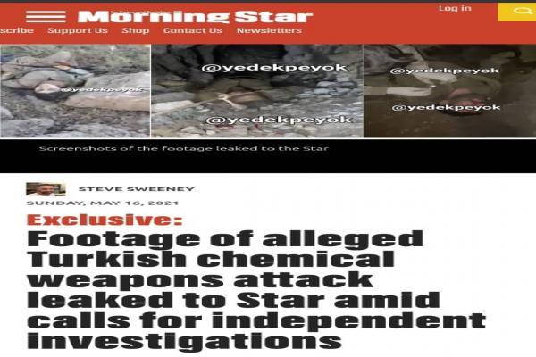 صحيفة بريطانية: عدم تعليق الناتو والأمم المتحدة على هجمات تركيا الكيماوية يشير لـ