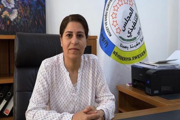 أمينة أوسي: اعتقال PDK لممثلينا وصمة عار للحزب ويخدم أجندات الدولة التركية