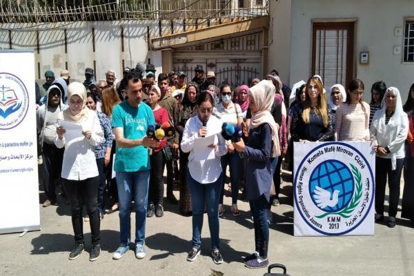 في اليوم العالمي للاجئين.. منظمة حقوق الإنسان تدعو الأمم المتحدة لتحمّل مسؤولياتها تجاه شمال وشرق سوريا