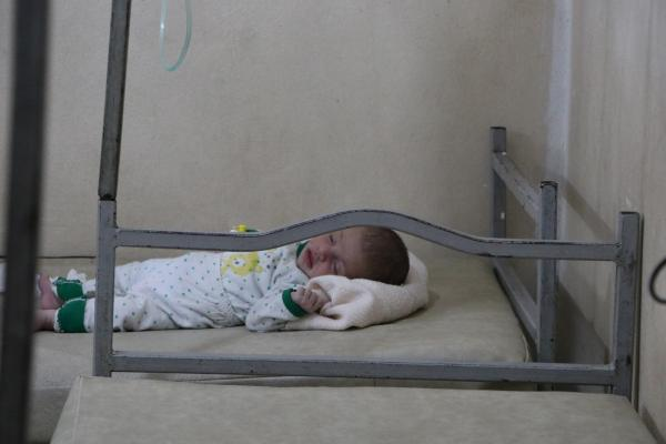 حصار حكومة دمشق يودي بحياة ثلاثة أطفال في مقاطعة الشهباء