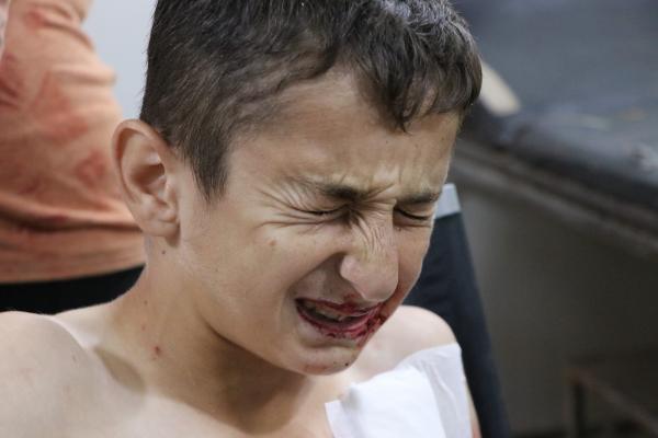 انفجار لغم بأربعة أطفال من مهجري عفرين في مقاطعة الشهباء