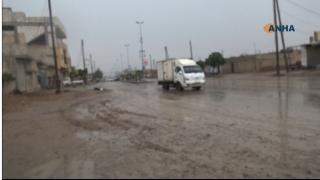 بعد طول انتظار.. أمطار غزيرة في كوباني والرقة