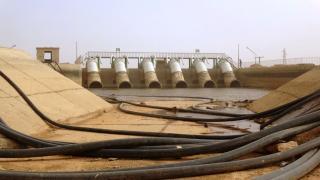 مساعي حثيثة لإعادة تشغيل مضخة المياه الرئيسية في ناحية عين عيسى