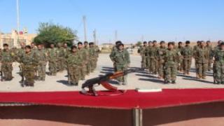 انضمام 109 مقاتل ومقاتلة إلى قسد ضمن مراسم حضرها القائد العام