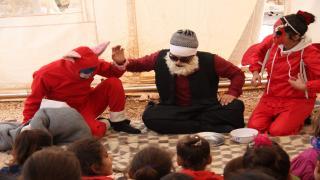 لجنة الدعم النفسي تساعد أطفال عفرين على تجاوز الآثار السلبية للحرب