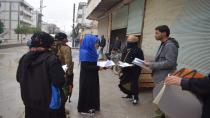 شبيبة منبج توزع منشورات تفضح ممارسات وجرائم الدولة التركية