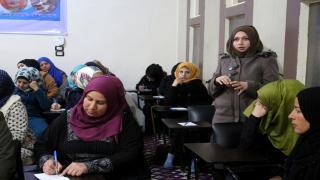 اكاديمية المرأة السورية تفتتح دورتها التاسعة