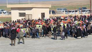 تشييع 7 من شهداء معركة دحر الإرهاب في الشدادي