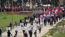 مظاهرة للشبيبة في الشهباء استنكاراً للعدوان التركي ودعماً لمقاومة العصر