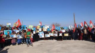 من الاعتصام في منبج: التهديدات التركية حلقة ضمن مسلسل عرقلة حل الأزمة السورية