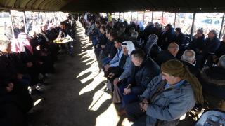 عقد صلح بين عائلتين في قرية كرزيارت بمنطقة ديرك