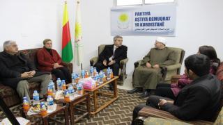حزب السلام الديمقراطي و''الكردي السوري PDKS'' يؤيدان دعوة KNK
