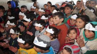 لجنة الدعم النفسي تقيم احتفالية لأطفال عفرين