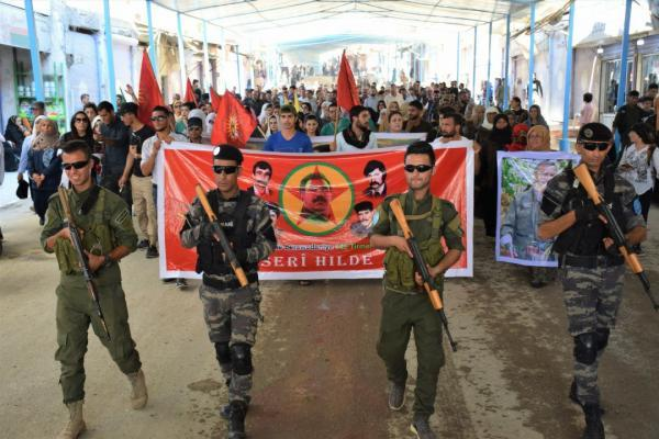 Youth of Serê Kaniyê is rising against the Turkish occupation