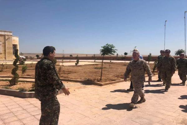 SDF General Commander meets US officials