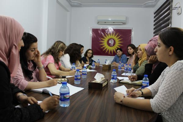 Women's Council Coordination approves formation of constitutional , legal committee