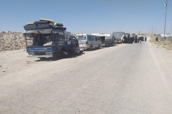 After Deir ez-Zor, the displaced from Manbij in al-Hol camp return to their homes