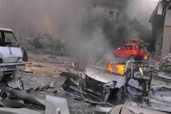 A car bomb explodes in al-Rai leaving dead, wounded